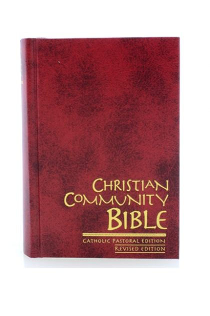 CHRISTIAN COMMUNITY BIBLE POPULAR HARDCOVER