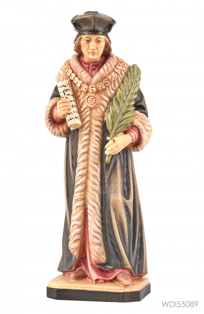 Woodcarved Statue St Thomas More