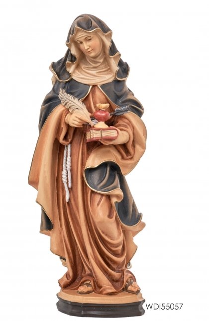 Woodcarved Statue St. Teresa of Avila