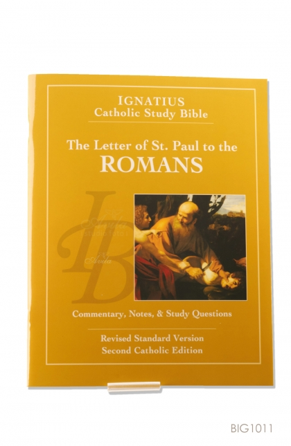 English Book - The Letter of St. Paul to the Romans : Ignatius Catholic Study Bible