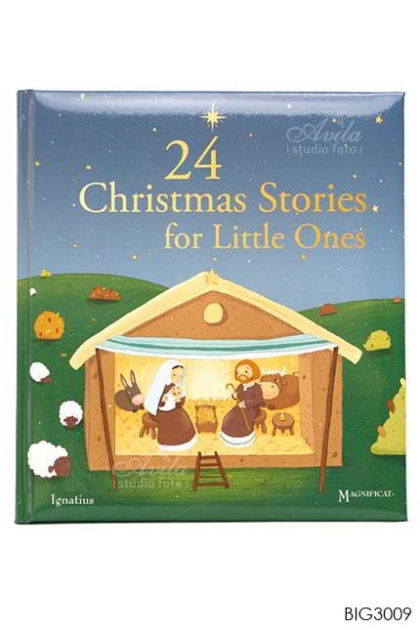 English Book 24 Christmas Stories for Little Ones