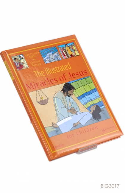 ENGLISH BOOK - The Illustrated Miracles of Jesus