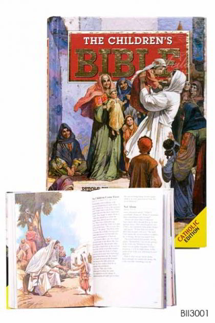 ENGLISH BIBLE The Bible For Children (Re-print)