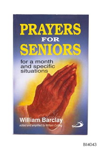 ENGLISH BOOK PRAYER FOR SENIORS - For a month and specific situation