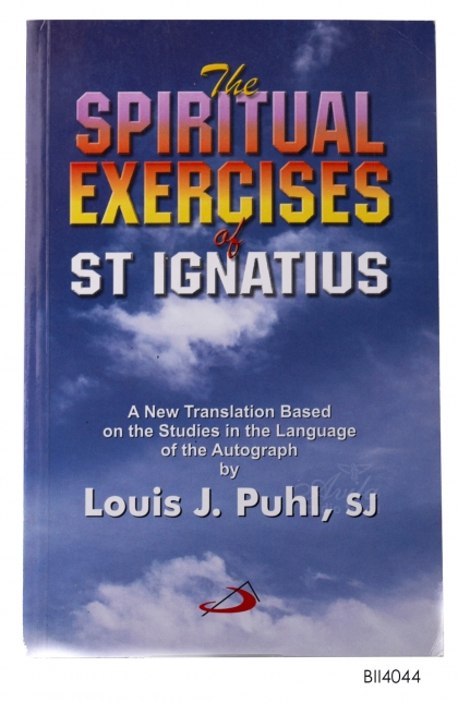 ENGLISH BOOK The Spiritual Exercises of St. Ignatius