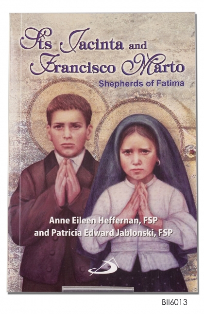 ENGLISH BOOK St Jacinta and Francisco Marto