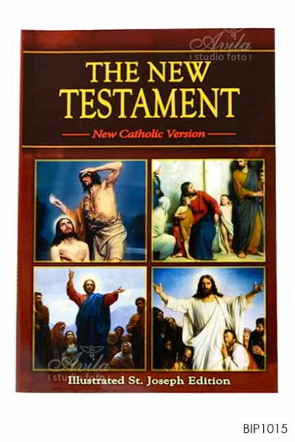 ENGLISH BIBLE - Saint Joseph New Testament (Study Edition)