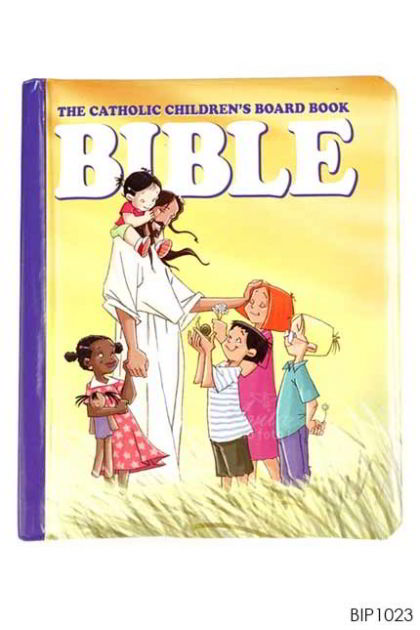 ENGLISH BOOK The Catholic Children's Board Book BIBLE