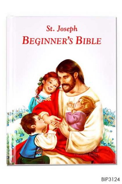 ENGLISH BOOK St.Joseph Beginner's Bible, Hardcover