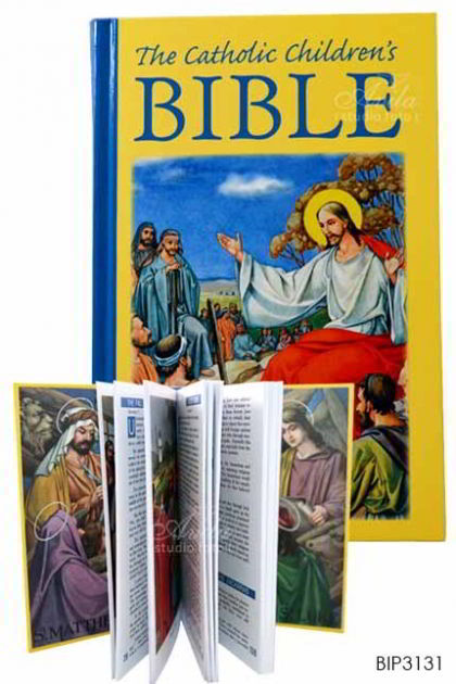 ENGLISH BIBLE-The Catholic Children Bible - color