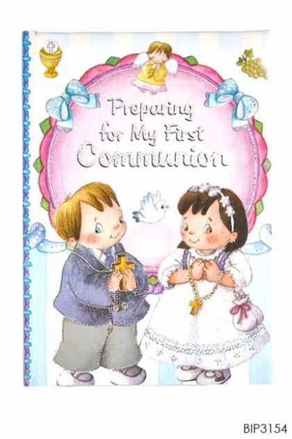 ENGLISH BOOK - Preparing for My First Communion