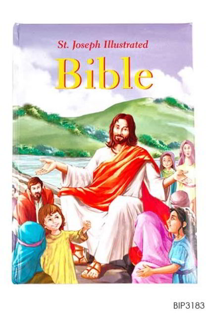 ENGLISH BOOK - St. Joseph Illustrated Bible