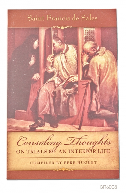 ENGLISH BOOK Consoling Thoughts of St. Francis de Sales: On Trials of an Interior Life
