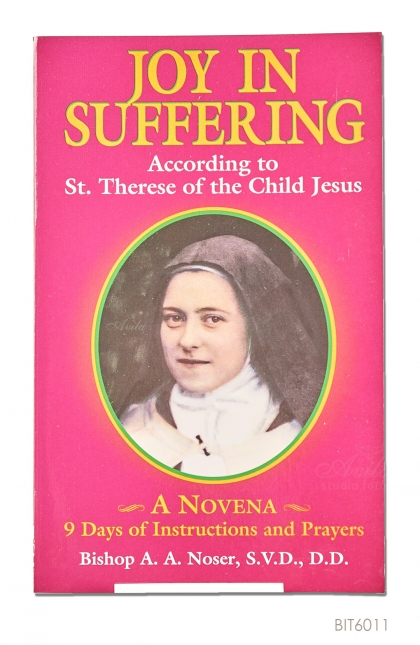 ENGLISH BOOK Joy In Suffering According to St. Therese of the Child Jesus