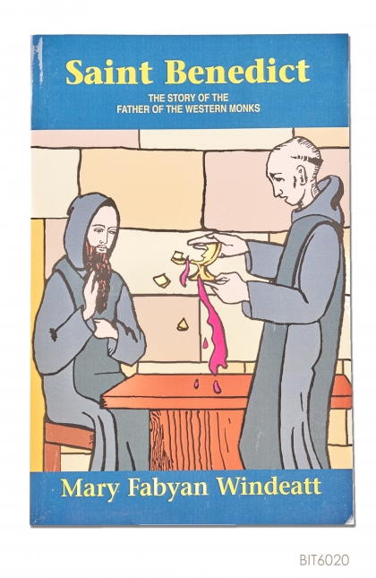 ENGLISH BOOK Saint Benedict: The Story of the Father of the Western Monks