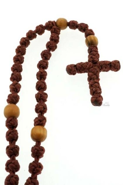 ROSARIO KALUNG KNOTTED ROSARY CARITAL PH-TALI BROWN