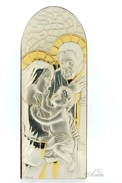 HIASAN MEJA HOLY FAMILY WITH GOLD DOME SHAPED