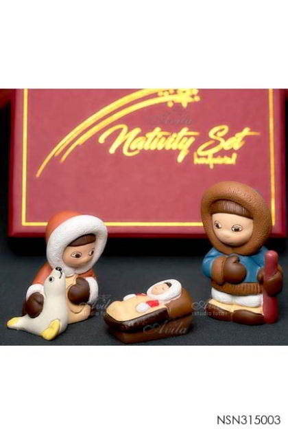 Nativity Set - Eskimo