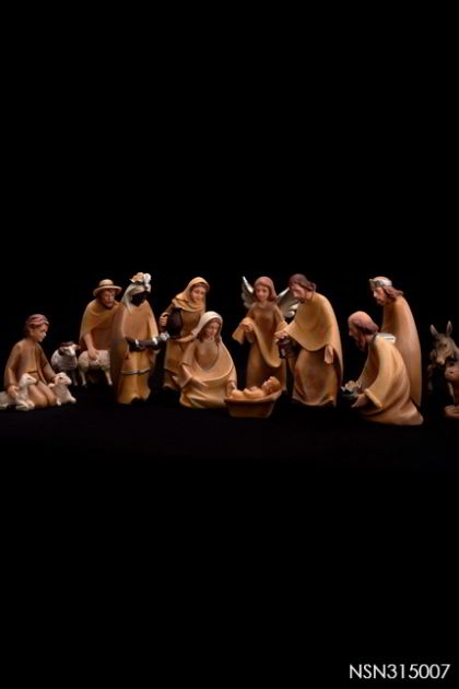 Nativity Set Scene - full set