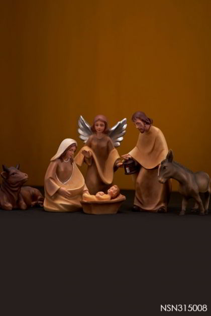 Nativity Scene - small set 6pcs