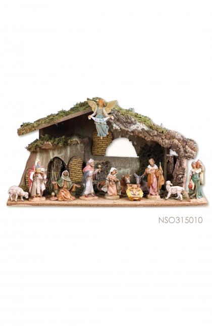 Nativity Set isi 13 pcs + Carillon