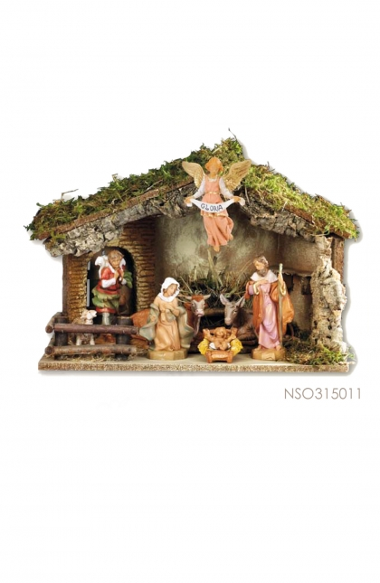 Nativity Set 9 pcs