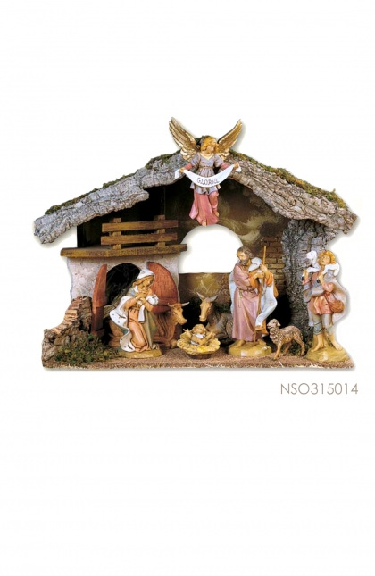Nativity Set - 9 pcs With Luce