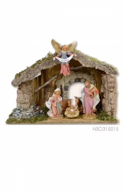 Nativity Set; 7 pcs