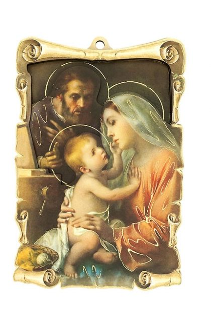 Paper Tole 3D Holy Family Full Image