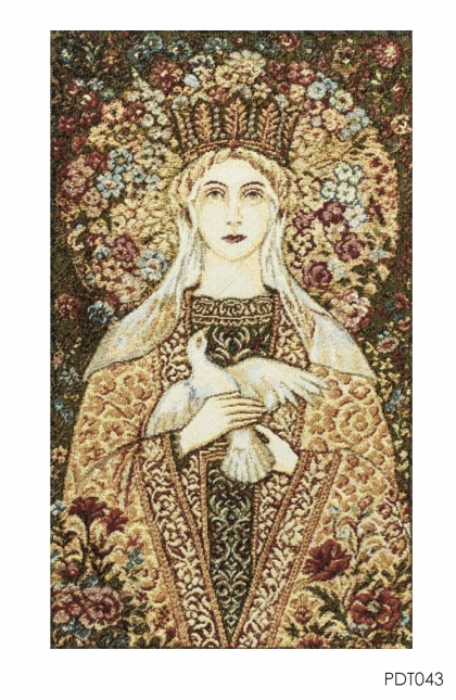 Hiasan Dinding - Tapestry Madonna Fiore