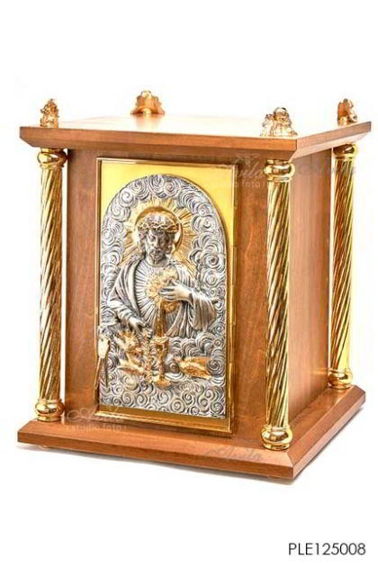 Tabernacle the Body & Blood of Christ with four pilars