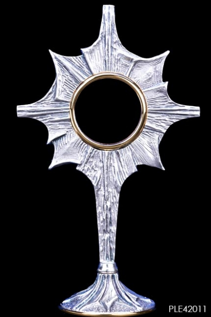 PERALATAN LITURGI - Monstrance Star of the East  Silverplated 1000