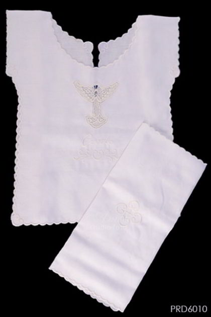 BAJU BAPTIS-SPECIAL EDITION Newborn-18months old Baptism Shirt and Linen.