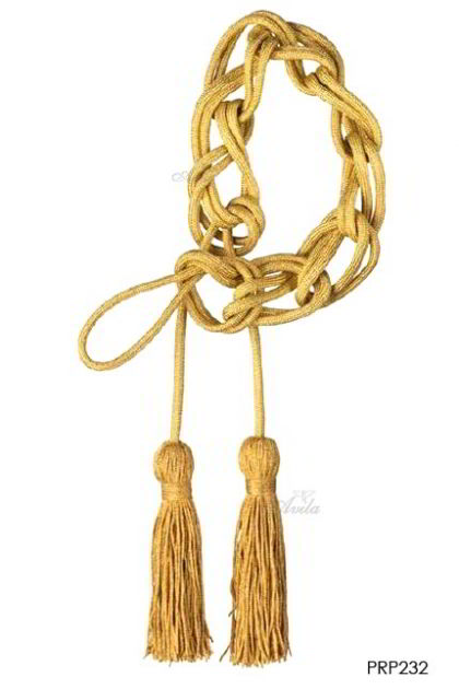 Singel Simple Tassle - Gold