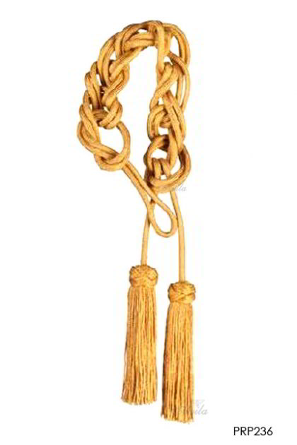 Singel Braid Tassle - Gold