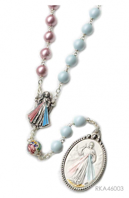 The Best European Crystal Beads Pearl Rosary Tensa 8MM