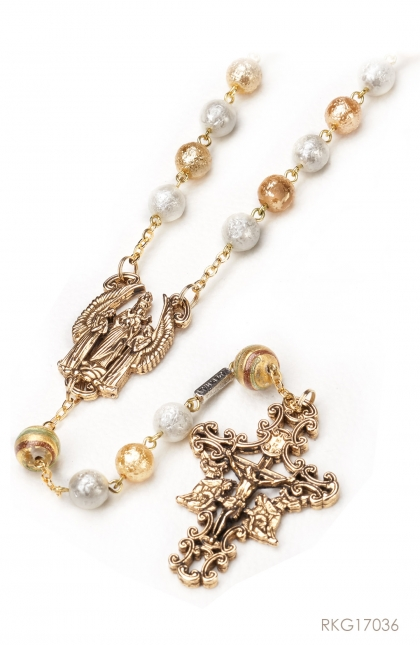 Rosary of the Angel - Bohemian glass beads