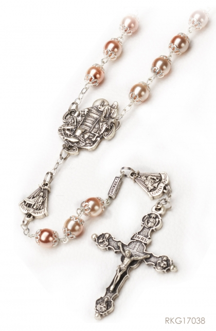 Rosary of the Apostles - Bohemian glass beads