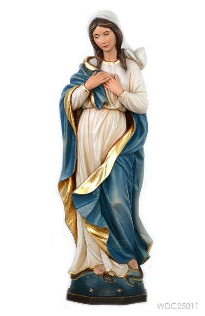 Our Lady Asumtion 60cm Woodcarved