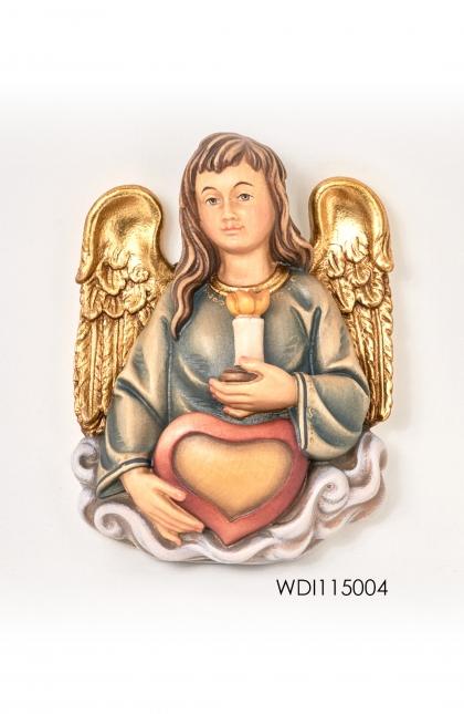 Woodcarved Statue ~ Birthday Angel