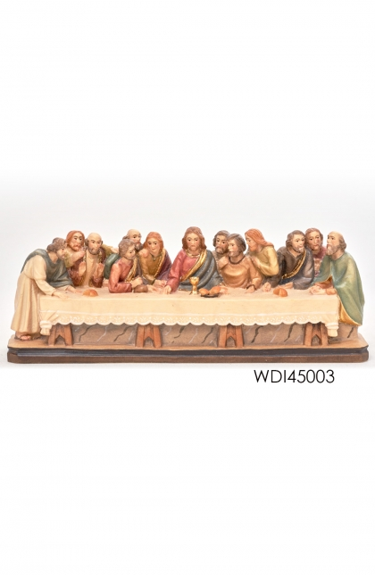 Woodcarved Statue ~ Last Supper