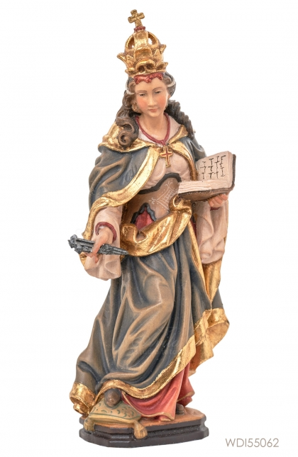 Woodcarved Statue - St. Helena