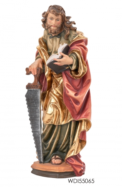 Woodcarved Statue St. Simon