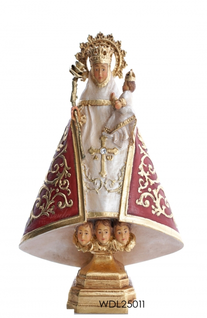 Woodcarved Statue Virgin of Cavadonga