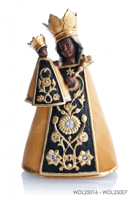 Woodcarved Statue Madonna Altoetting