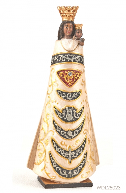 Woodcarved Statue St Virgin Of Loretto