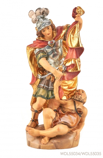 Woodcarved Statue St Martin