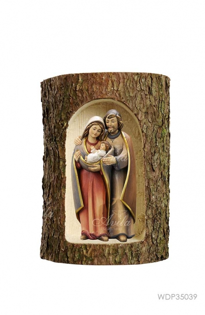 Holy Family In Three Trunk 7.5cm