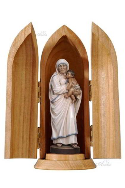 St. Teresa of Calcuta in Woodtube