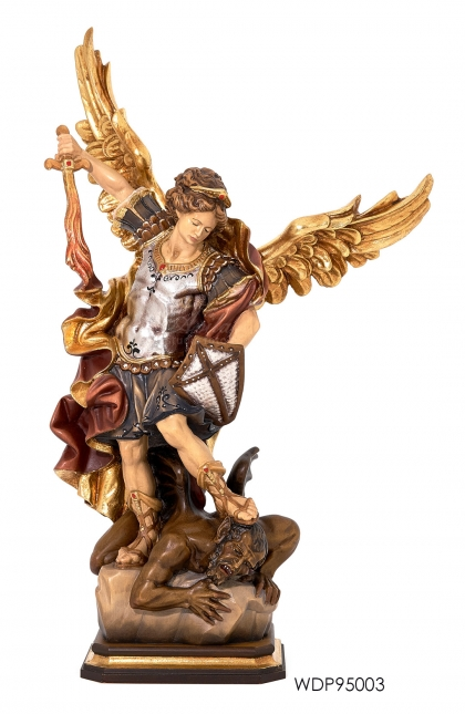 Woodcarved - Statue St. Michael